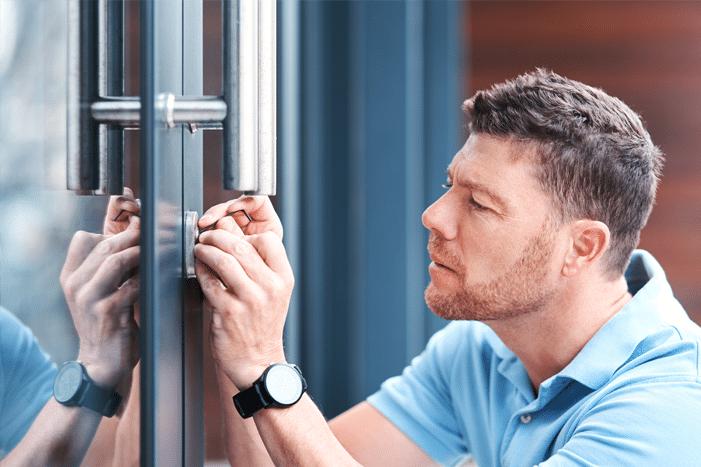 Türöffnung durch Schlüsseldienst